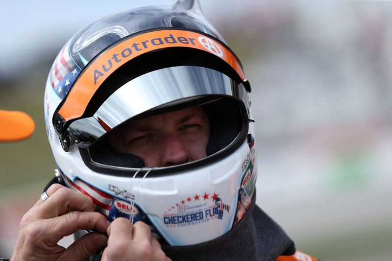 Brad Keselowski could end up staying with Penske Racing. Photo: Sean Gardner/Getty Images