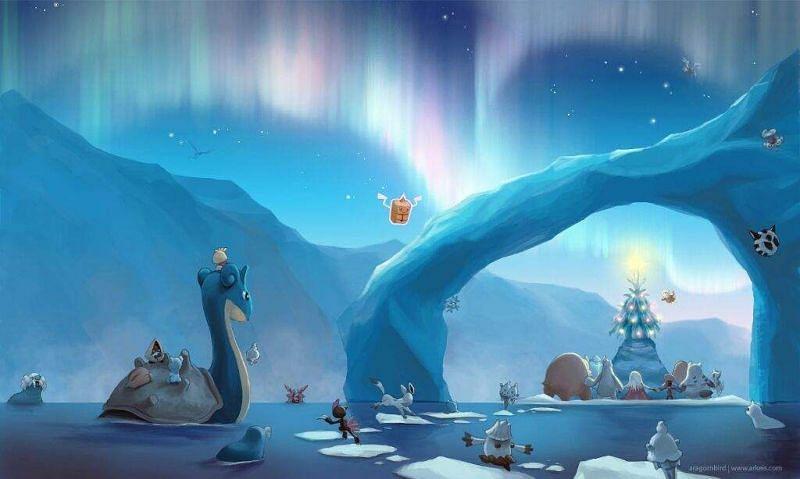 The Ice aesthetic (Image via WallpapersPlanet.net)