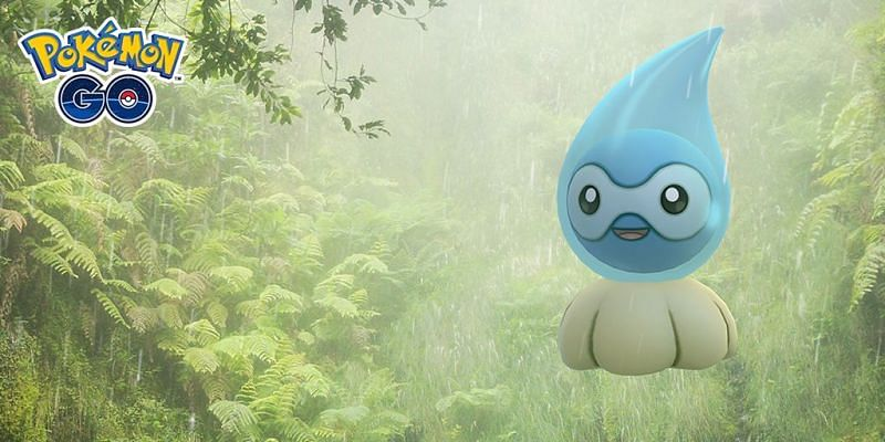 The Weather Week in Pokemon GO is based around Pokemon that thrive in rough weather (Image via Niantic)