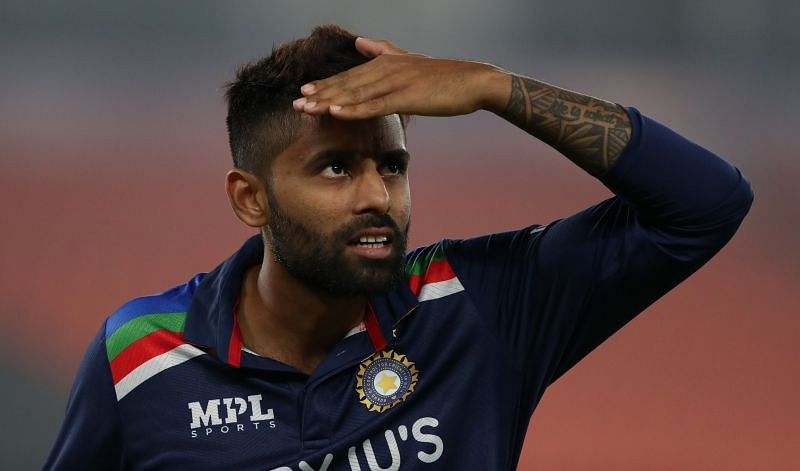 Suryakumar Yadav was puzzled after being adjudged out for a contentious catch.