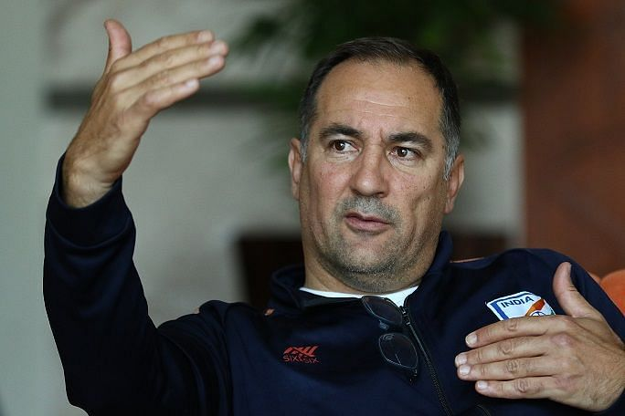 Indian football team head coach Igor Stimac interacted with the media ahead of the friendly with Oman.