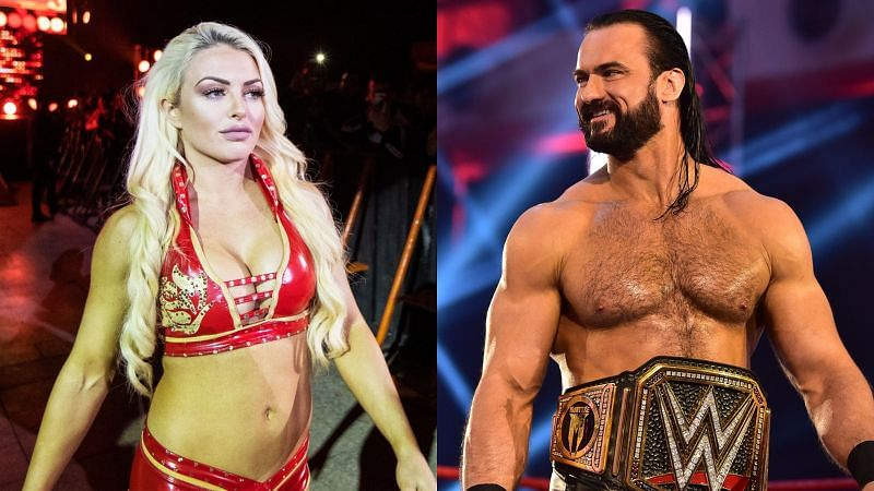 Mandy Rose and Drew McIntyre