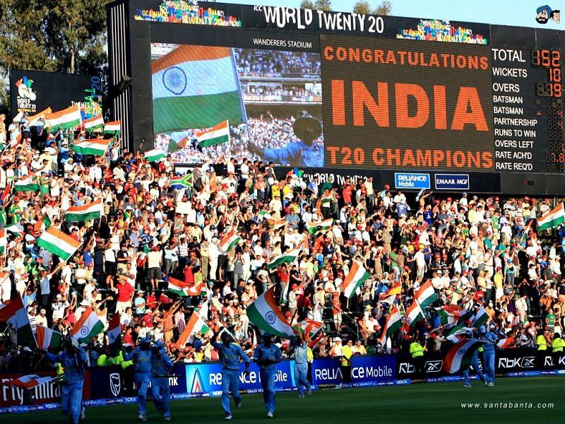 India won the inaugural T20 World Cup in 2007