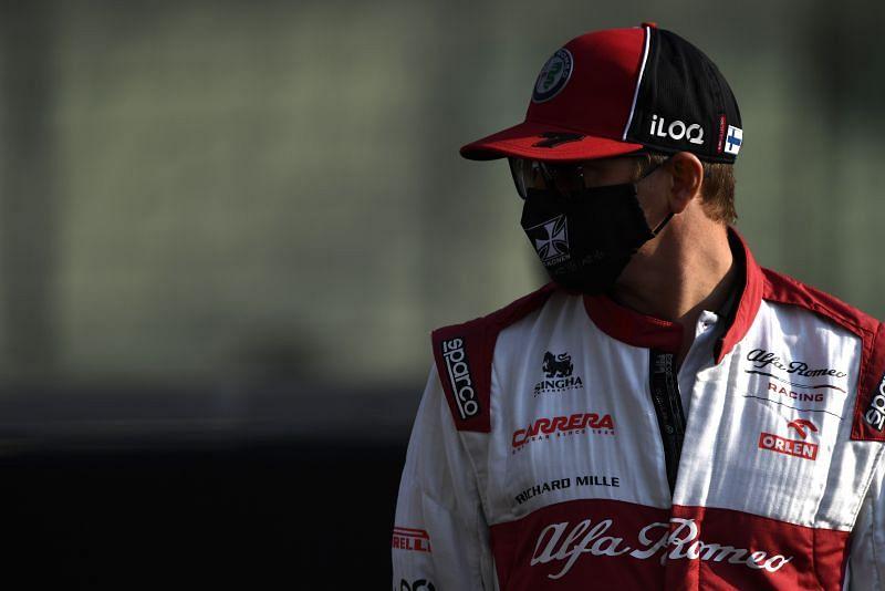 Kimi Raikkonen turned back the clock in the Bahrain Grand Prix. Photo: Mark Thompson/Getty Images