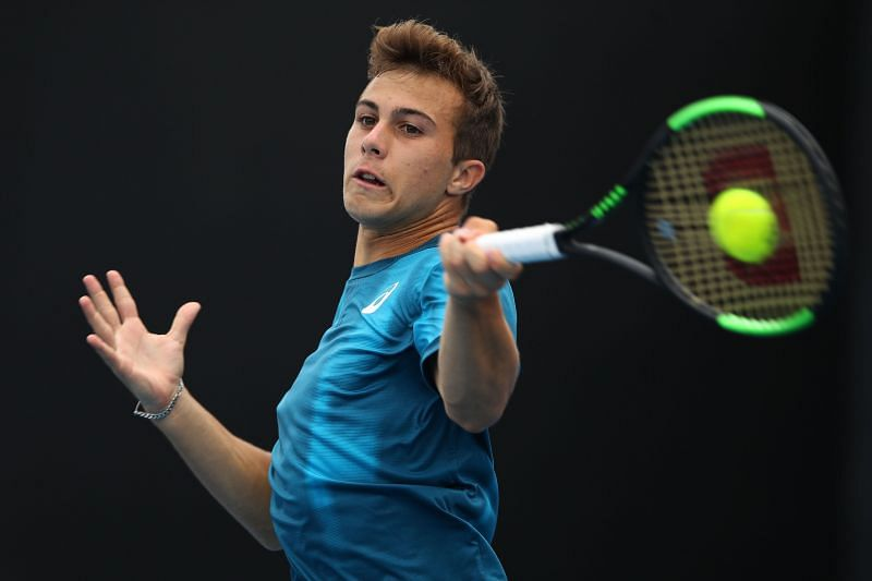 Hugo Gaston dreams of becoming the World No. 1, just like his idol Rafael Nadal