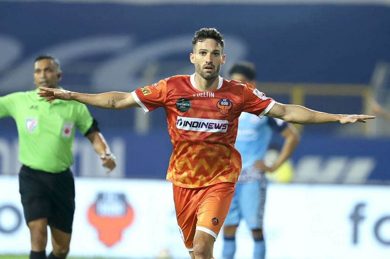 Jorge Ortiz has arguably been FC Goa's best player this season. Courtesy: ISL