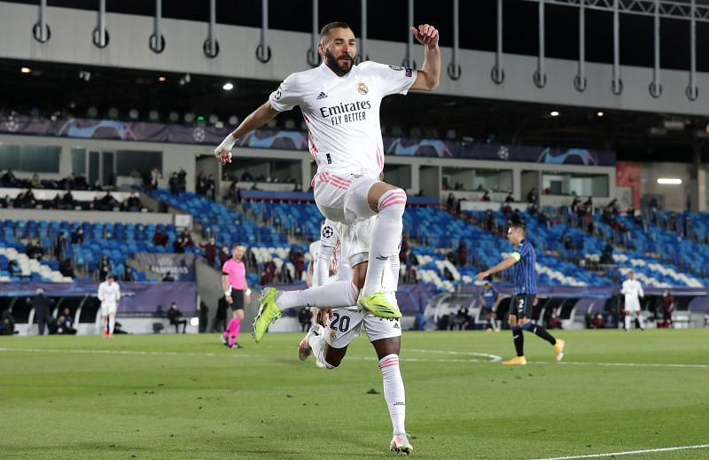 Karim Benzema is fifth on the all time list of Real Madrid scorers with 272 goals