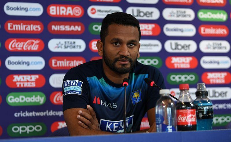 Dimuth Karunaratne will captain Sri Lanka in this series