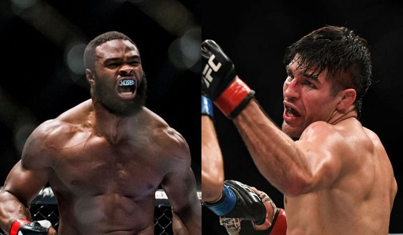 Tyron Woodley and Vicente Luque
