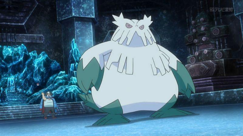 Wulfric and his Abomasnow (Image via The Pokemon Company)