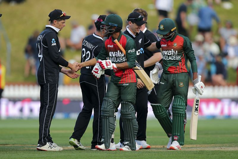 The New Zealand vs Bangladesh ODI series ended in the home team