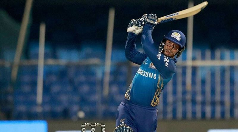 Quinton de Kock opened the batting in every IPL 2020 game for MI