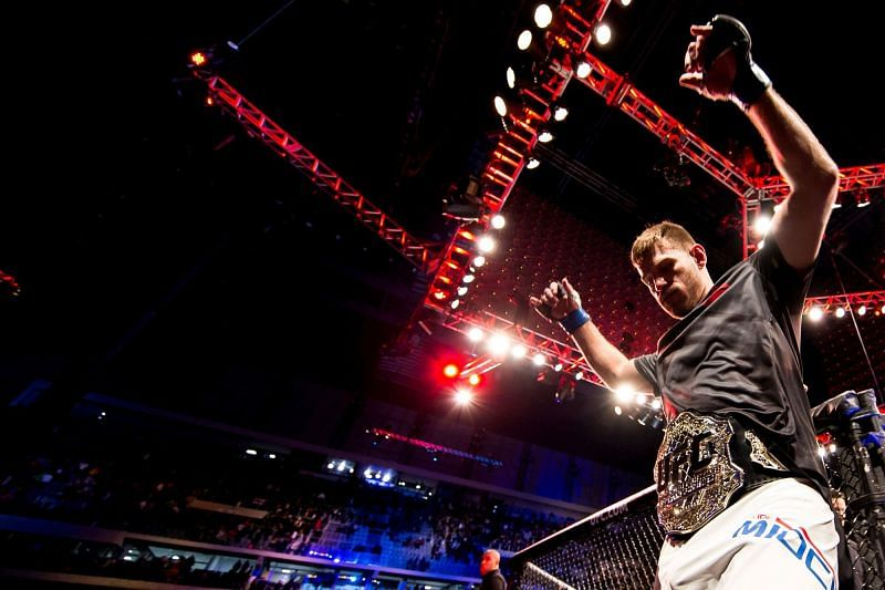 Stipe Miocic will be defending the UFC heavyweight title this Saturday at the UFC APEX.