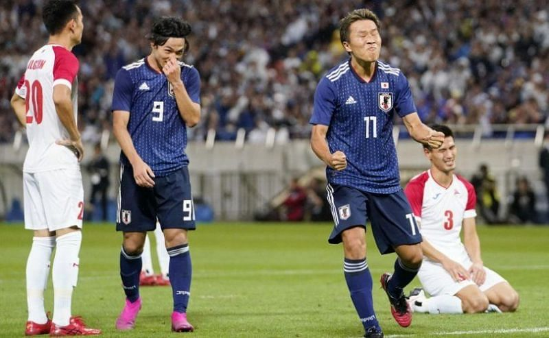 Japan had beaten Mongolia 6-0 in the first leg of their World Cup qualifying game