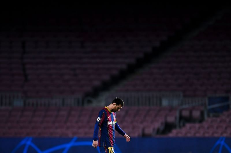 Messi has faced some disappointments in his illustrious career.