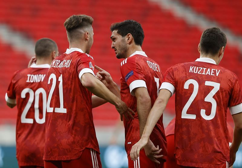 Russia face Slovakia in a World Cup qualifier