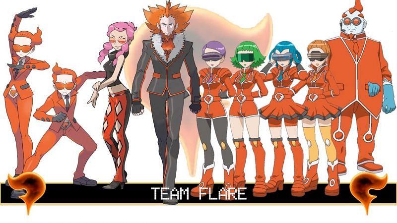 Team Flare (Image via Tom Salazar)