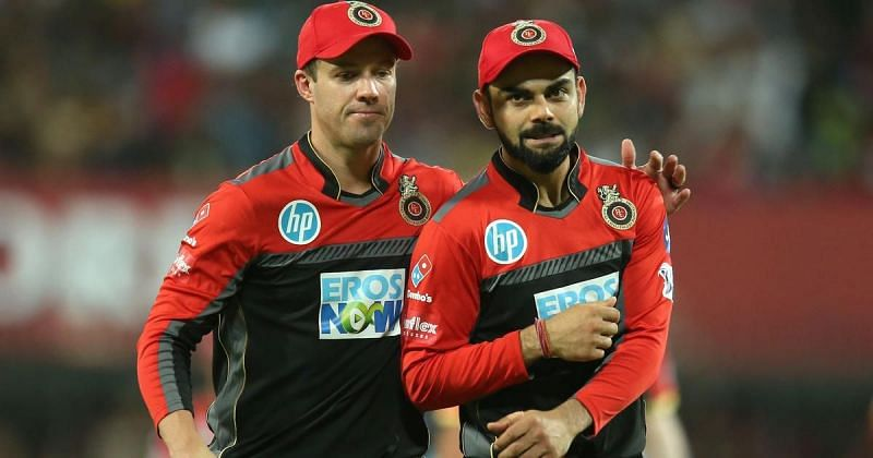 RCB stalwarts Virat Kohli and AB de Villiers reveal their new jersey for IPL 2021
