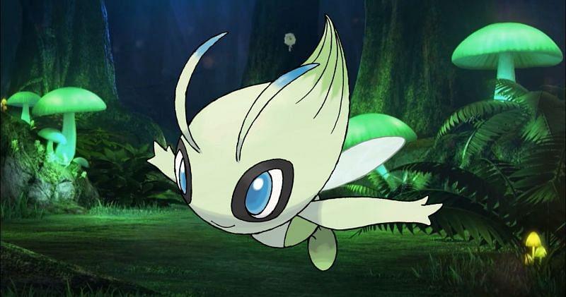 Celebi (Image via The Pokemon Company)