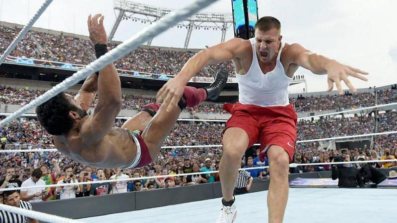 Rob at WrestleMania 33