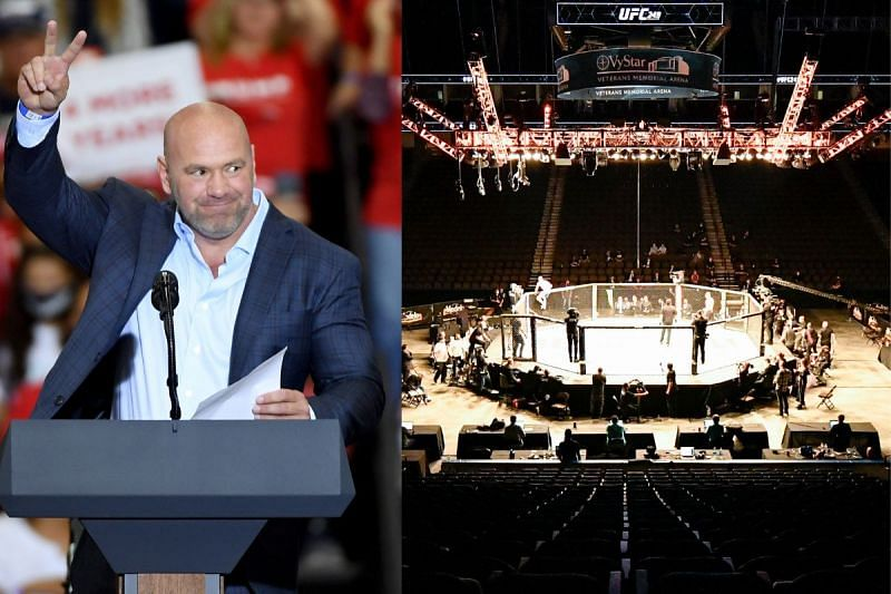 UFC 261 to take place in a packed stadium at Jacksonville, Florida