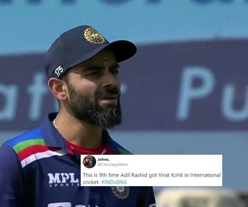 Virat Kohli missed out on yet another opportunity to reach that elusive 71st international hundred