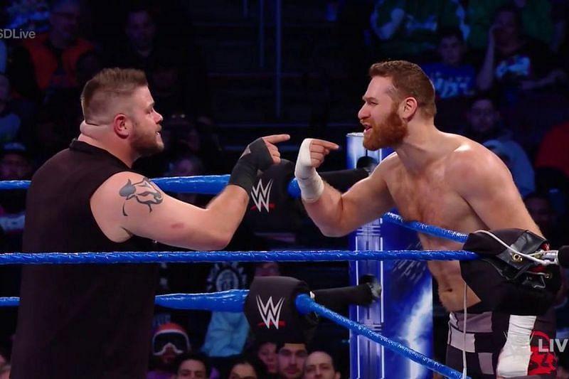 Kevin Owens and Sami Zayn in WWE
