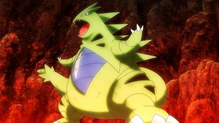 Tyranitar (Image via The Pokemon Company)