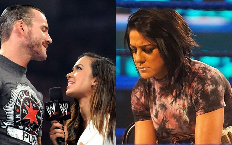 Bayley reveals her relationship with CM Punk and AJ Lee