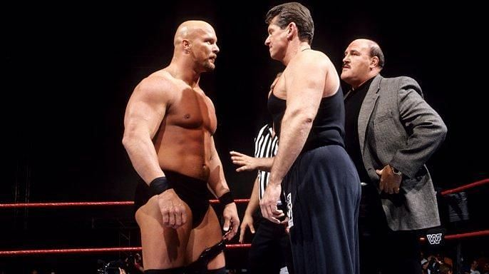 Steve Austin vs. Vince McMahon is widely viewed as WWE
