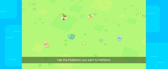 Starters available in Pokemon Quest (Image via The Pokemon Company)
