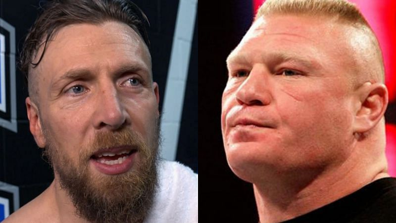 Daniel Bryan and Brock Lesnar.