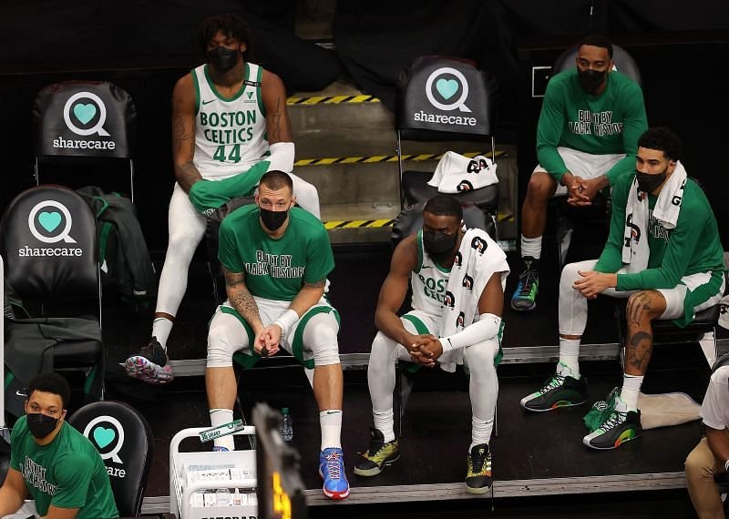 The Boston Celtics are looking for reinforcements before the NBA trade deadline.