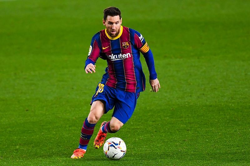 Lionel Messi is yet to sign a new contract at Barcelona