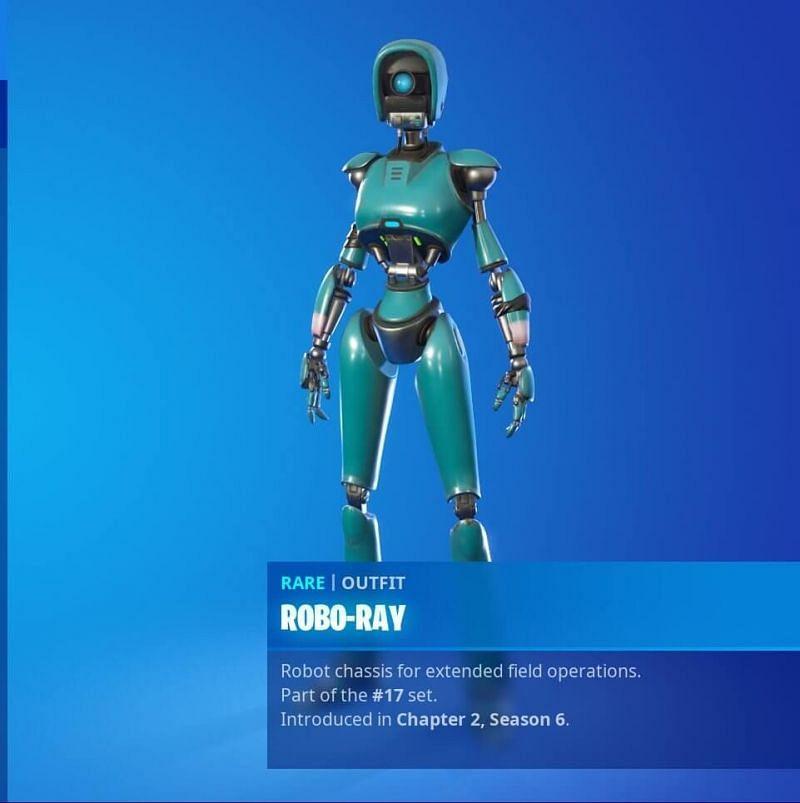 Robo Ray (Image via Twitter)