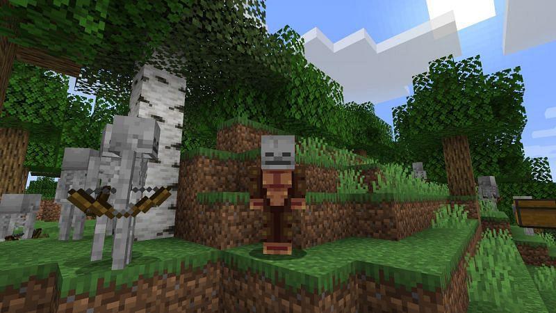 Monke friend! (Image via Minecraft)