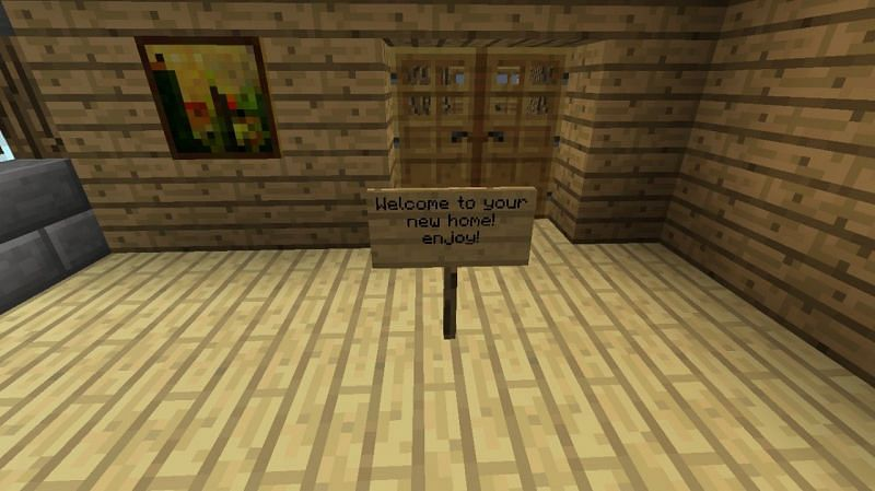 Welcome to your Minecraft home (Image via planetminecraft)