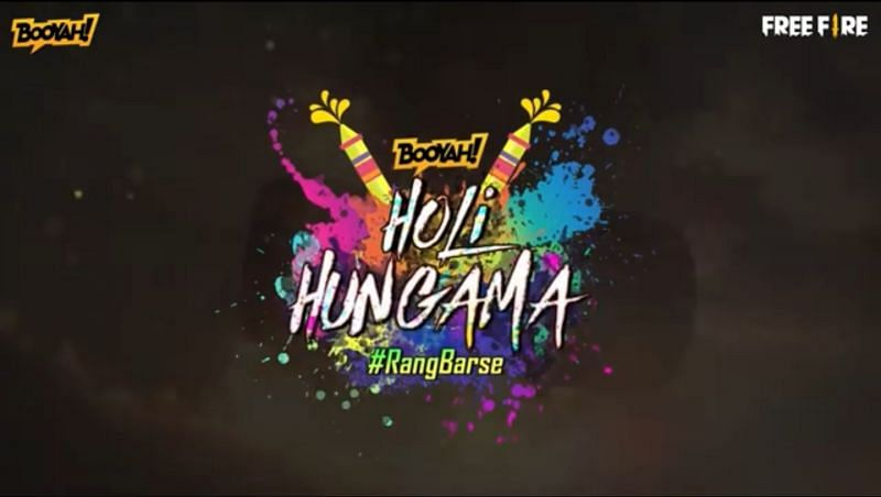 The Holi Hungama event in Free Fire provides players with an opportunity to obtain up to 3000 diamonds for free (Image via Booyah!)