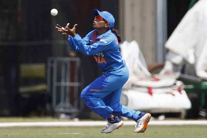 Rajeshwari Gayakwad was the Player of the Match in the final T20I against South Africa Women