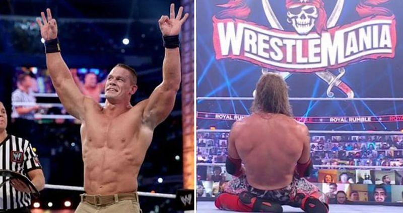 John Cena and Edge