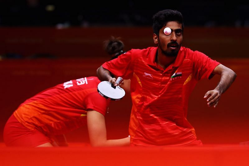 G Sathiyan defeated compatriot Sharath Kamal 4-3 in the Asian Olympic Qualifiiers in Doha