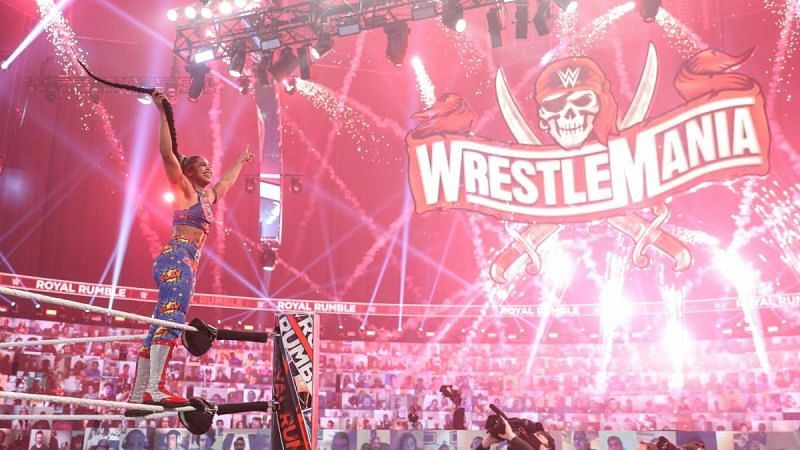 Bianca Belair chose to face Sasha Banks after winning the 2021 WWE Women