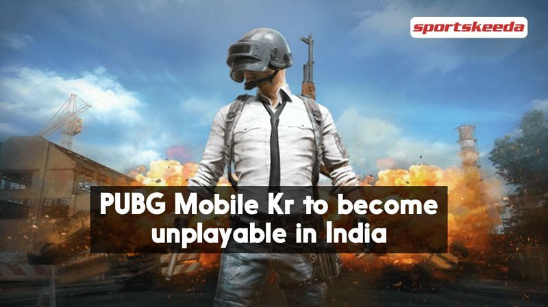 Functionality of PUBG Mobile KR will be stopped (Image via Sportskeeda)