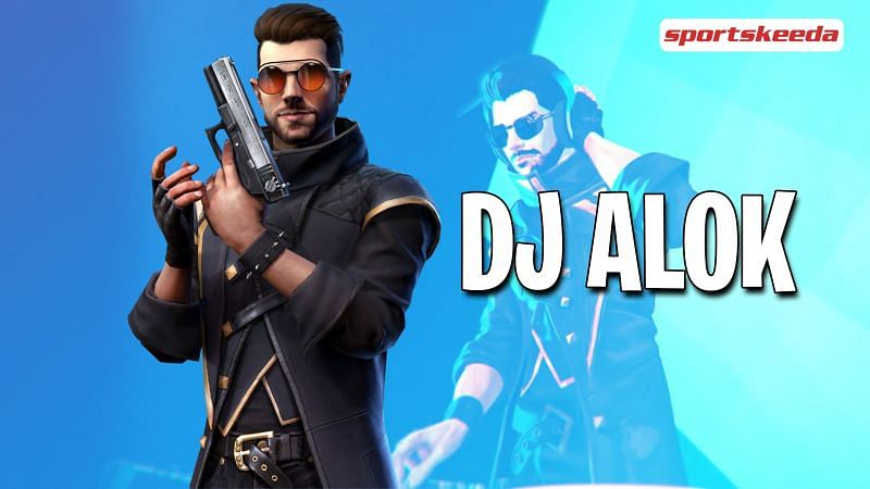 DJ Alok is an overpowered character in Garena Free Fire (Image via Sportskeeda)