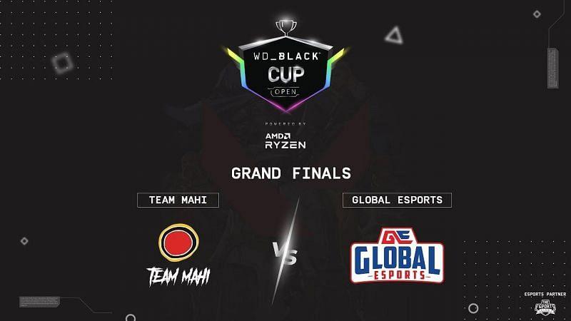 Team Mahi vs Global Esports Valorant WD Black Cup Image by the Esports Club