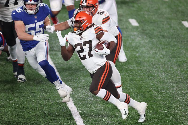 Cleveland Browns RB Kareem Hunt