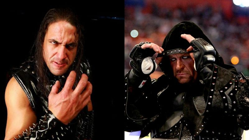 Ricky Banderas and The Undertaker.