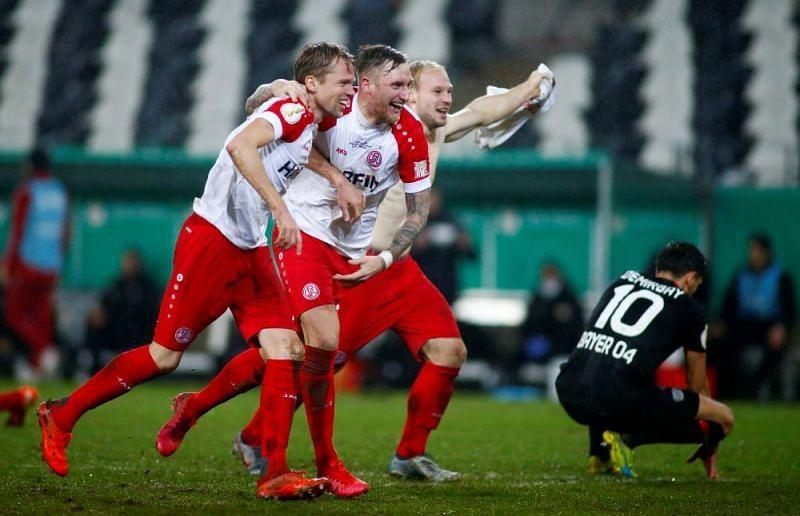 Essen and Kiel both have caused big upsets this season