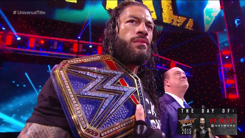 Roman Reigns is the top heel in WWE