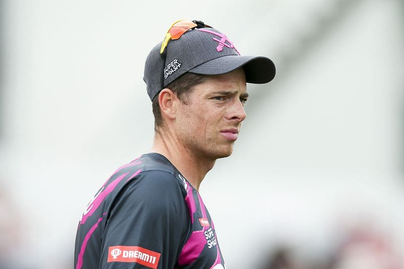 Mitchell Santner captained the New Zealand T20I team recently